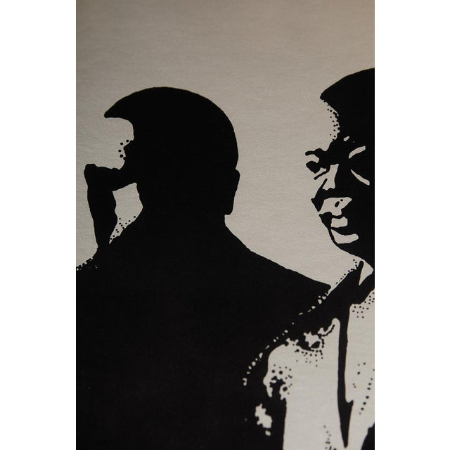 Study of Louis Armstrong, Original 1976 Poster - Image 10 of 10