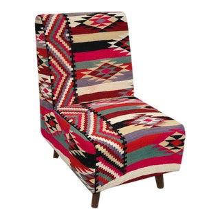 Turkish Handmade Kilim Chair