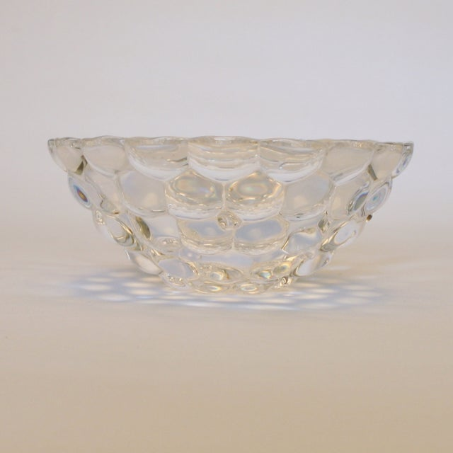Image of Orrefors Sweden Crystal Bowl