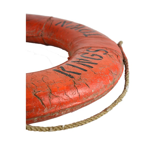 Vintage Nautical Lifeboat Float - Image 4 of 5
