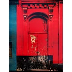 "Image of ""Red Door"" Poster by Sheldon Brody"
