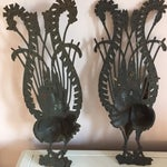 Image of Vintage Peacock Wall Art - A Pair