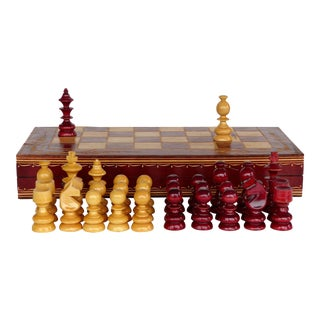 Chess & Backgammon Cased Set