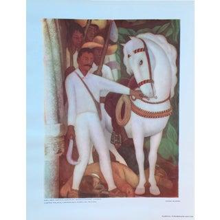 Diego Rivera Lithograph, 1946