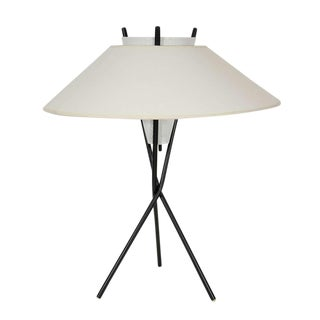 Gerald Thurston for Lightolier Tripod Table Lamps