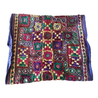Mirrored & Embroidered Indian Textile
