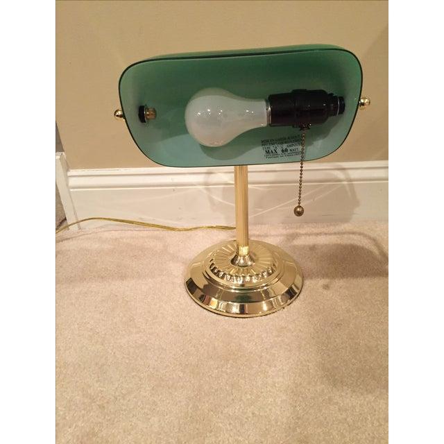 Retro Inspired Brass Desk Lamp - Image 5 of 7
