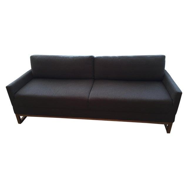Blu dot brown sleeper sofa chairish for Blu dot sleeper sofa