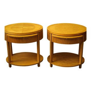 Baker Mid-Century End Tables - A Pair