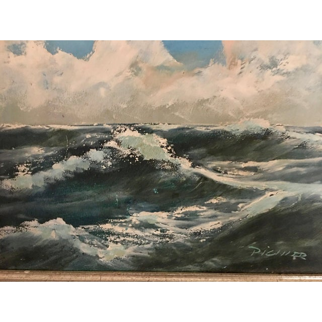 Original Seascape Oil Painting - Image 5 of 6