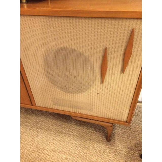 Mid-Century Modern Stereo Cabinet & Dry Bar - Image 5 of 9