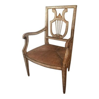 Parisian Brothel Rush Seat Chair