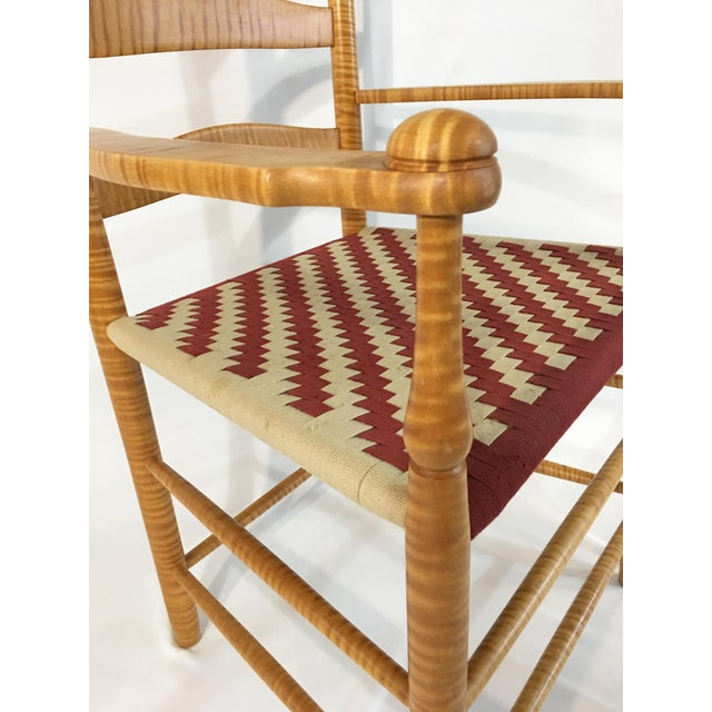 Reproduction Shaker Arm Chair - Image 4 of 8