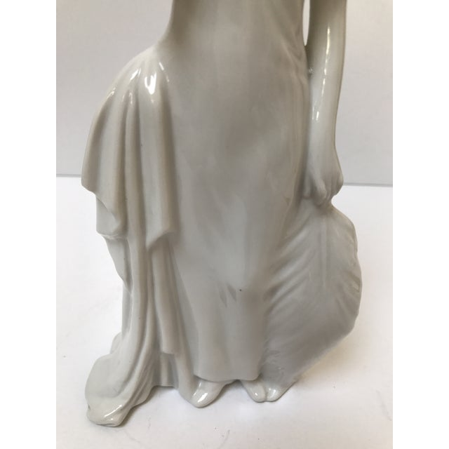 Art Deco Flapper Woman Statue - Image 5 of 8
