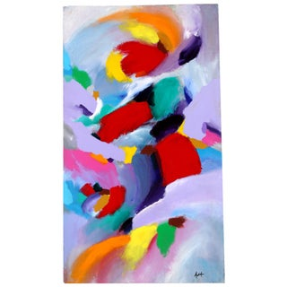 Abstract Color Study Painting