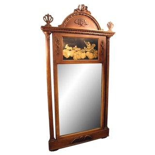 19th Century Wood Framed Mirror