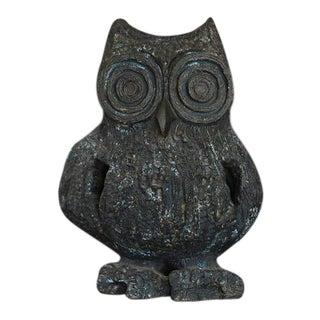 Large Brutalist Ceramic Owl Sculpture by Margot Kempe - 1960s
