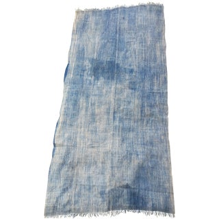 African Indigo Throw Blanket