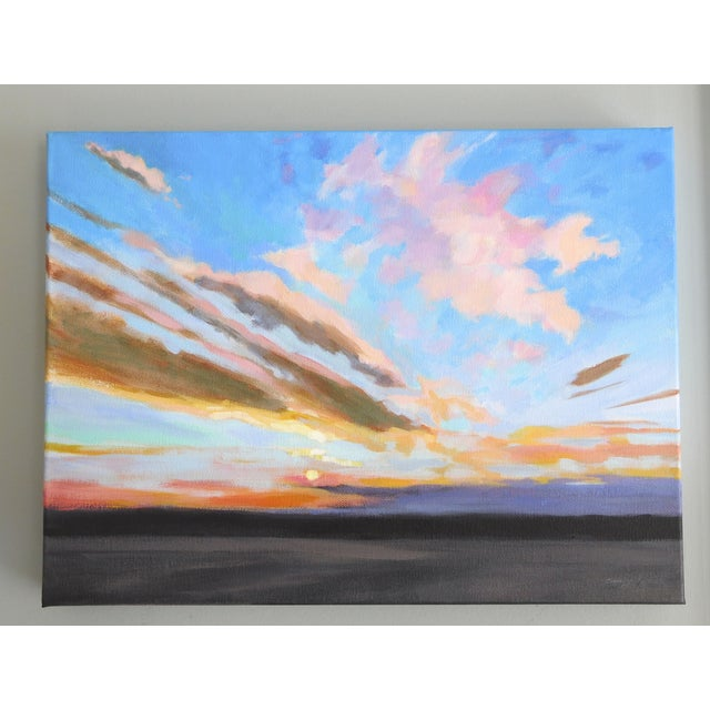 """Sunrise"" Original Painting A.Carrozza Remick - Image 2 of 7"