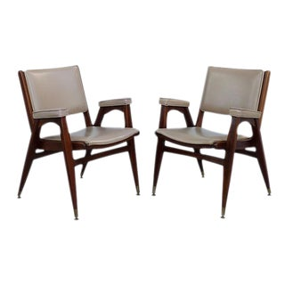 Mid-Century Jasper Seating Office Chairs - Pair
