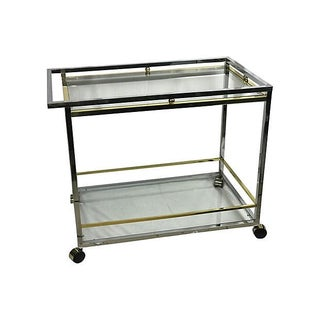 Spanish Chrome Bar Cart