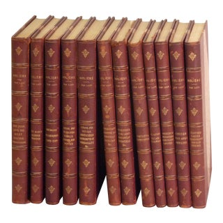 Works of Moliere - Set of 12