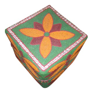 Vintage Beaded Offering Box