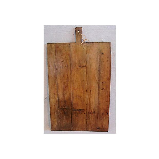 Large Antique French Bread Cutting Culinary Board - Image 3 of 5