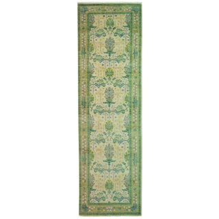 """Arts & Crafts Hand Knotted Runner - 2'7"""" X 8'10"""""""