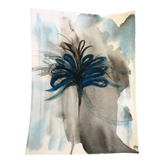 Contemporary Plume Watercolor Painting