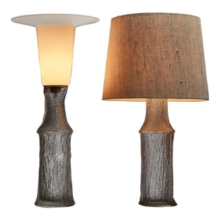 Pair of Timo Sarpaneva table lamps for Iitala, Finland, 1960s