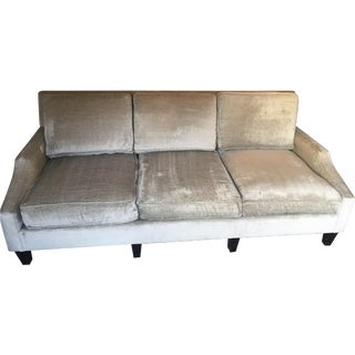 Contemporary Custom Gray Sofa