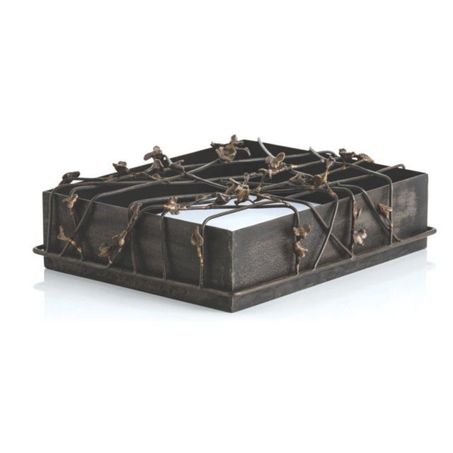 Image of Butterfly Metal Iron Box