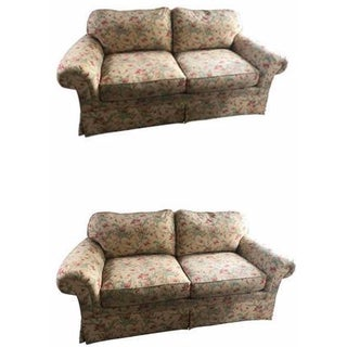 Floral Sofa by Sherrill - A Pair