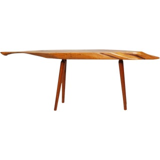 Roy Sheldon Narrow Free Edge Cocktail Table