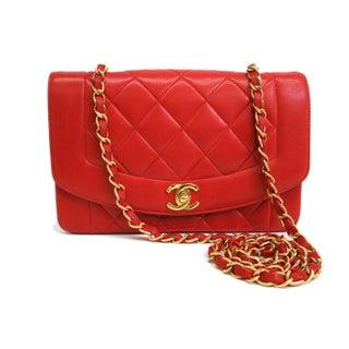 Chanel Single Flap Lambskin Shoulder Bag