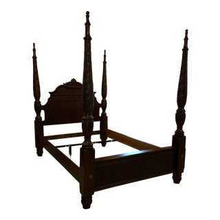 Kincaid Queen Brown Bed Frame