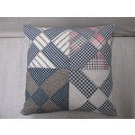Image of Vintage Americana Patchwork Pillow