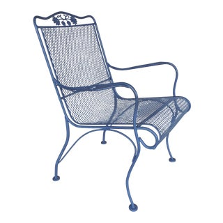Vintage Woodard Briarwood High Back Lounge Chair Model #1A052907