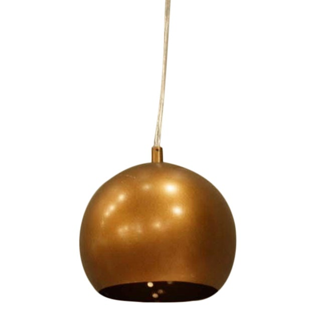 Image of Trend Lighting Copper Tone Pendant Lamp