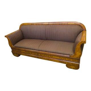 """English Victorian """"Empire"""" Sofa"""