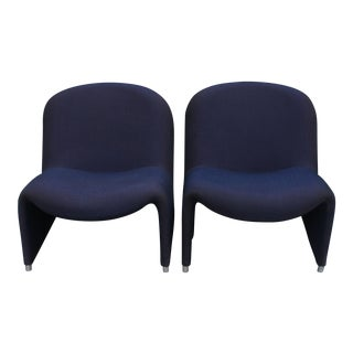 """Alky"" Chairs by Giancarlo Piretti for Castelli - A Pair"