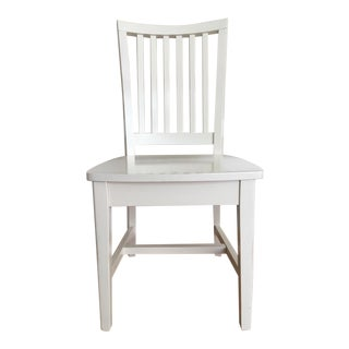 Pottery Barn Kids White Side Chair