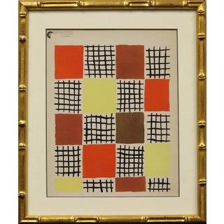 """Sonia Delaunay"" Planche 7 Pochoir Painting"