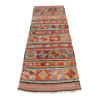 "Vintage Turkish Kilim Runner - 2'3"" x 7'7"""