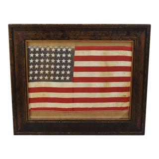 Framed 48-Star American Parade Flag