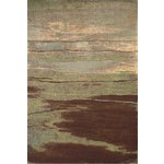 Image of Rivington Chocolate Rug by Feizy - 8' x 11'
