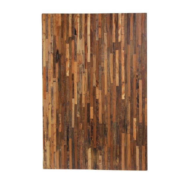 Image of Natural Reclaimed Boat Wood Panel