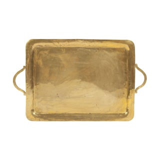 Vintage Peggy Page Brass Tray made in Mexico