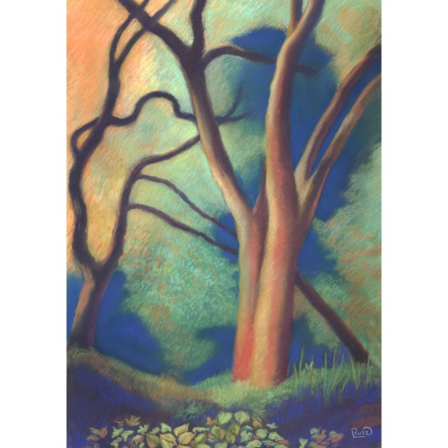 Trees by Path to Enlightenment Painting - Image 2 of 3